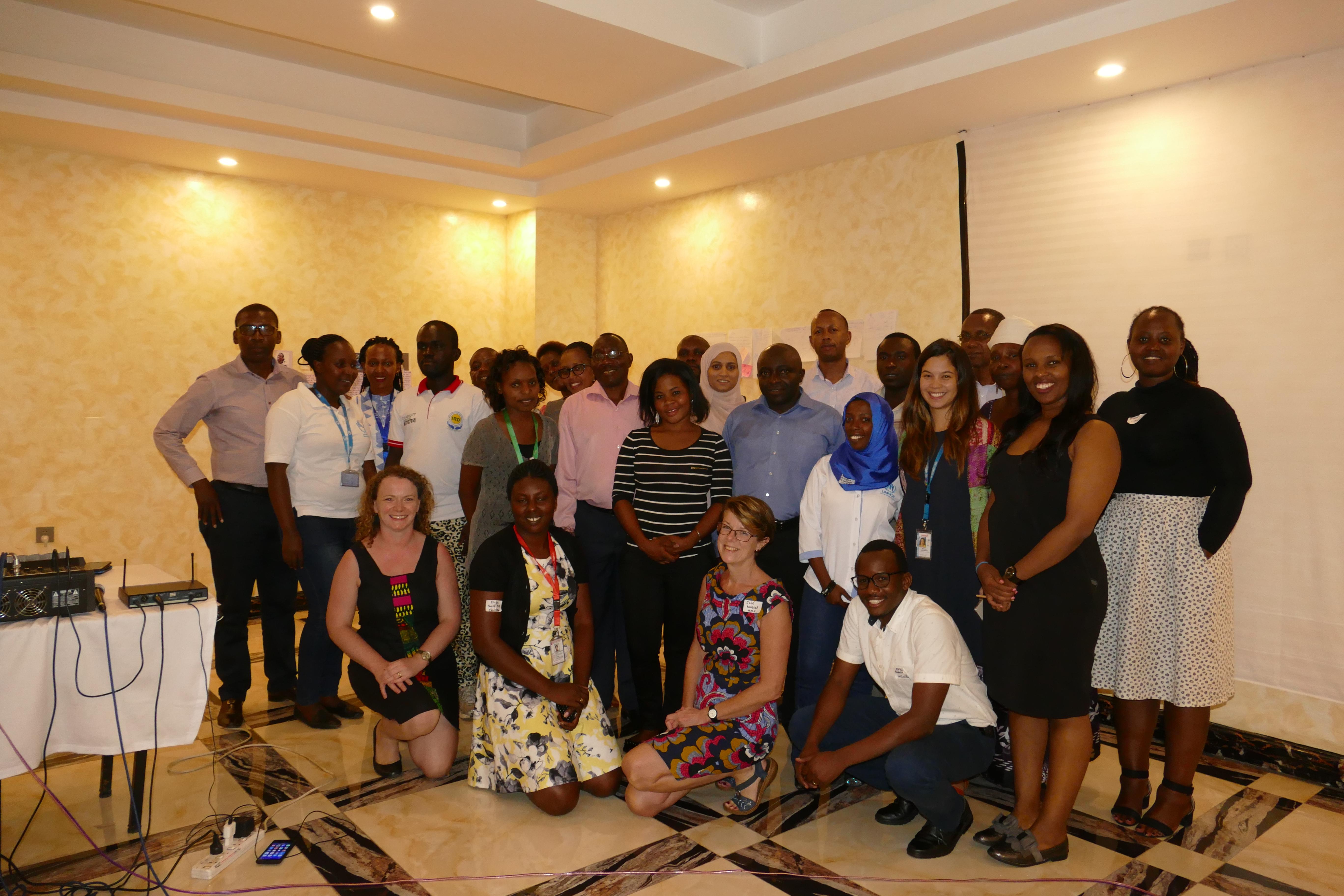 SRHE workshop participants